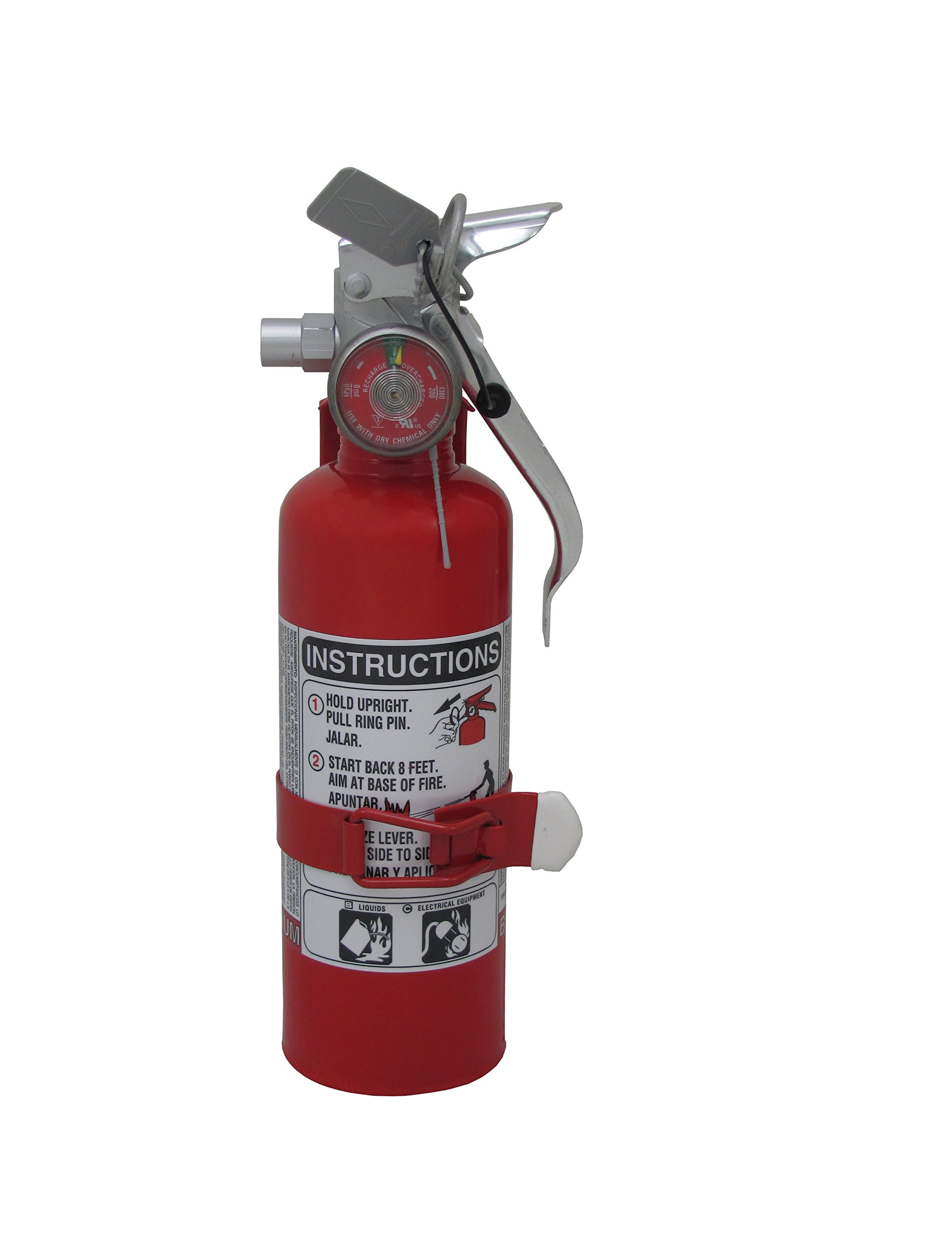 Amerex A620T, 1lb Regular Dry Chemical Class B C Fire Extinguisher