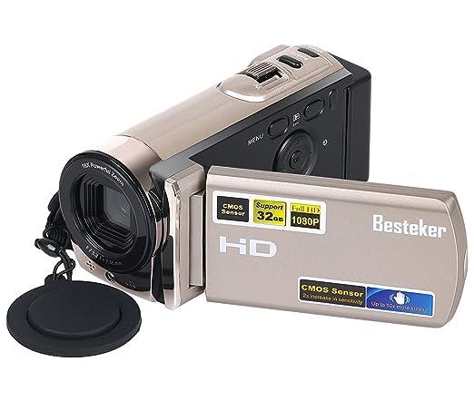 5 opinioni per Camera Videocamere, Besteker Portatili Digital Video Camcorder FHD max. 16.0