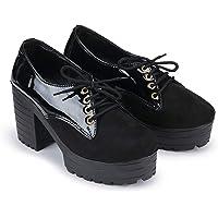 DEEANNE LONDON Woman's Block Heel Shoes (DN-83)