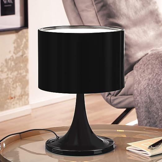 Lámpara de mesa de diseño TIL Lámpara de metal con pantalla ...