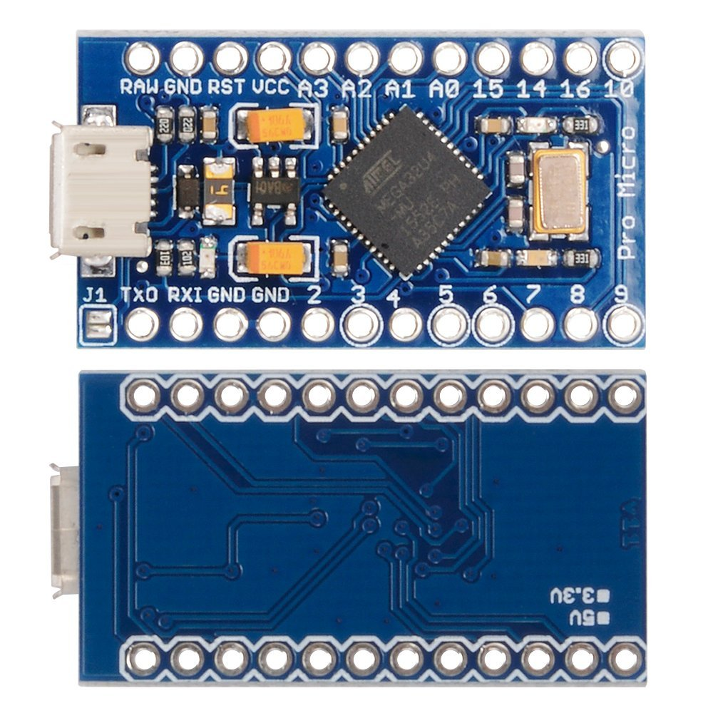 XCSOURCE Pro Micro ATMEGA32U4 5V/16MHz Module Board With 2 Row Pin Header For Arduino Leonardo Pro Mini TE463