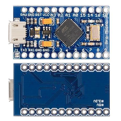 Amazon.com: XCSOURCE Pro Micro ATmega32u4 5 V/16mhz ...