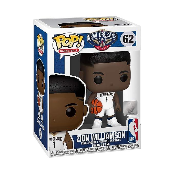 Funko- Pop NBA: New Orleans Pelicans-Zion Williamson Figura ...