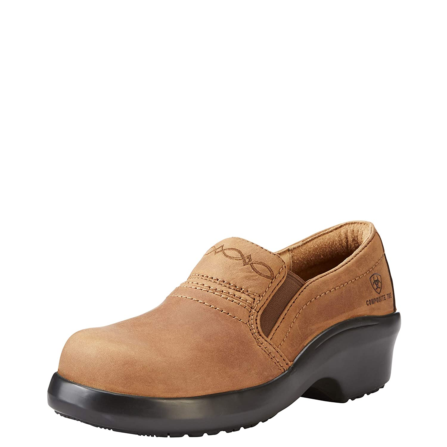 [Ariat] レディース Expert Safety Clog Static Dissipative Expert Safety Clog Composite Toe ブラウン 7.5 C US