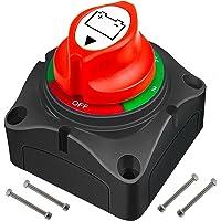 Interruptor de batería de 12 V 24 V 48 V, interruptor de batería 1-2 both OFF, interruptor principal de 300 A…
