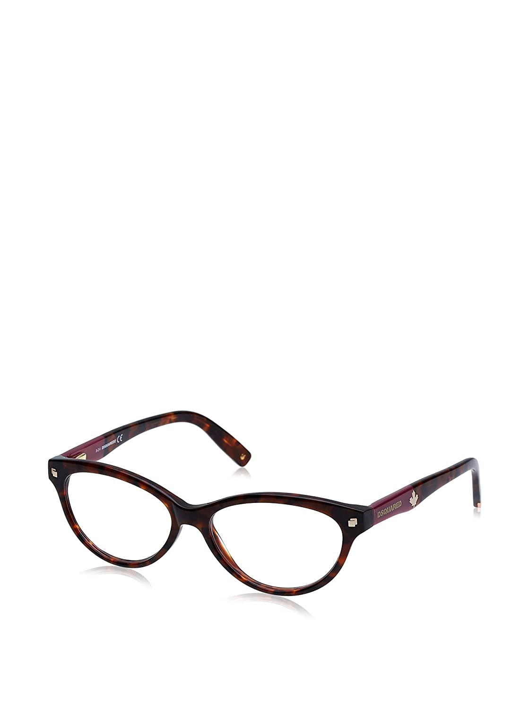 DSQUARED2 D Squared Brillengestelle DQ5116 055-54-15-140 Montature Marrone Brown 54.0 Donna