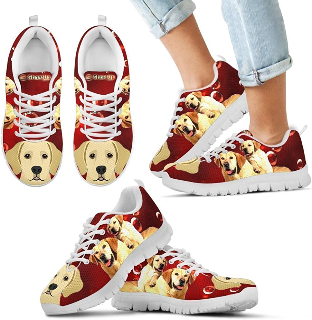 Pet Animal Designs Labrador Retriever Print-Kids Running Shoes-Casual Sneaker