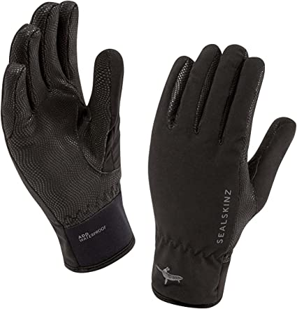 TALLA XL. Sealskinz Handschuhe Sea Leopard Gloves - Guantes de Ciclismo para Mujer