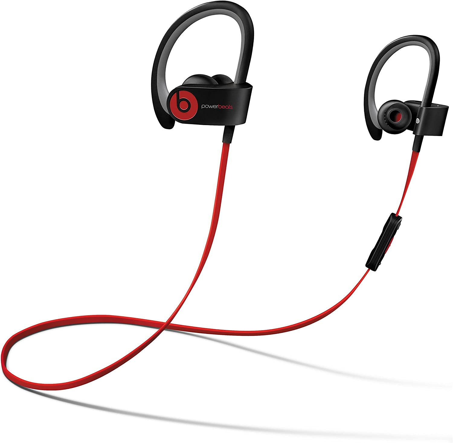 Amazon Com Beats By Dr Dre Powerbeats2 Wireless In Ear Bluetooth Headphone With Mic Black Renewed Electronics