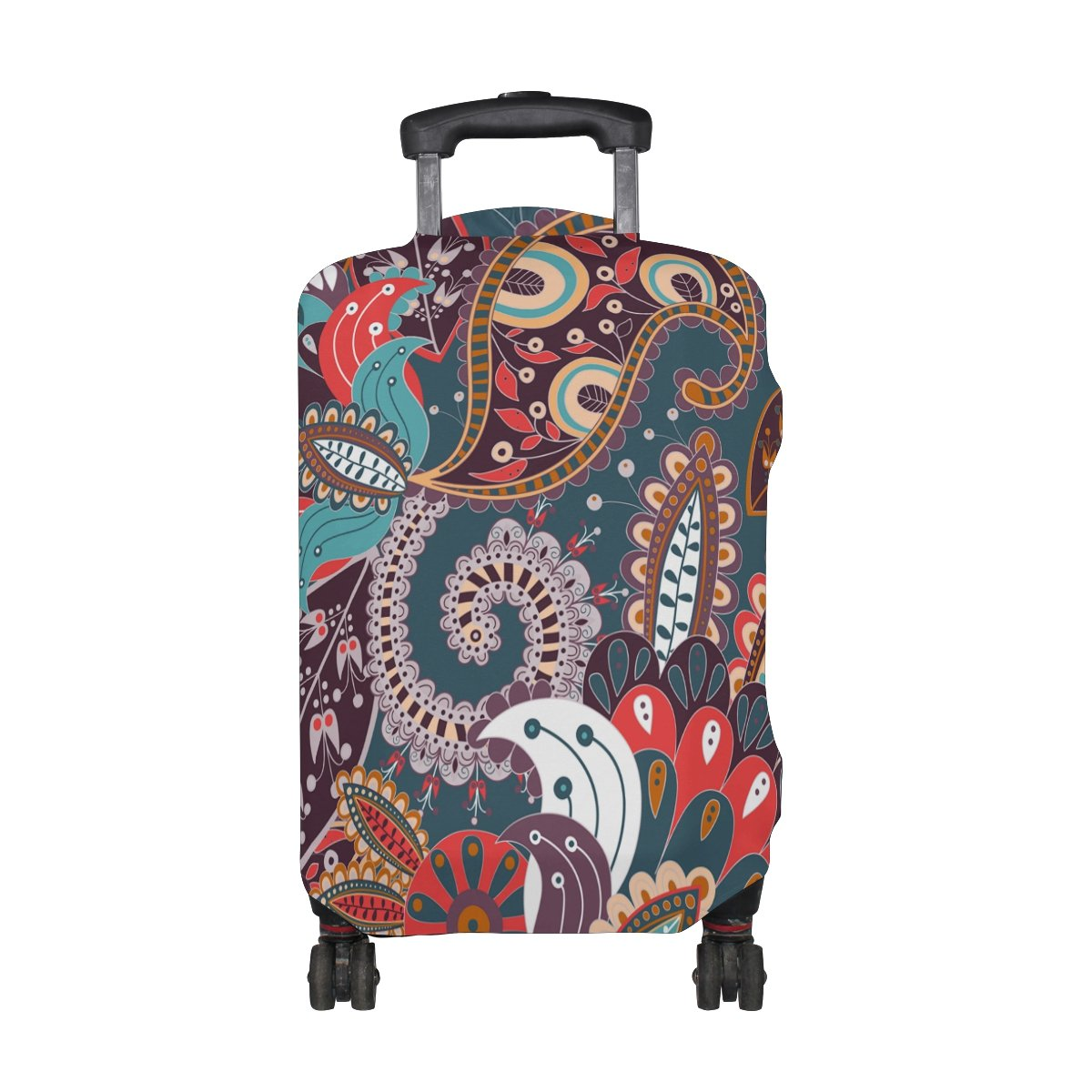 Bohemian Hippie Print Travel Luggage Protector Baggage Suitcase Cover Fits 29-32 Inch Luggage by CoolPrintAll (Image #2)