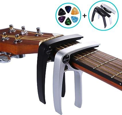 Asmuse Trigger Cejilla Guitarra Capo Española Electrica Acustica ...