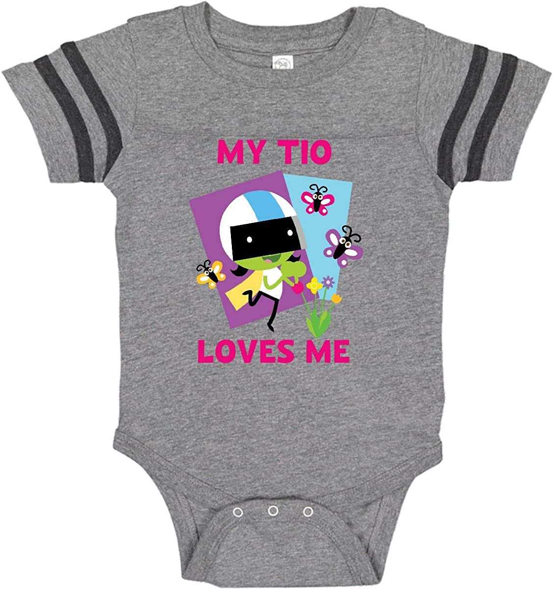 inktastic My TIO Loves Me with Dee Infant Creeper PBS Kids
