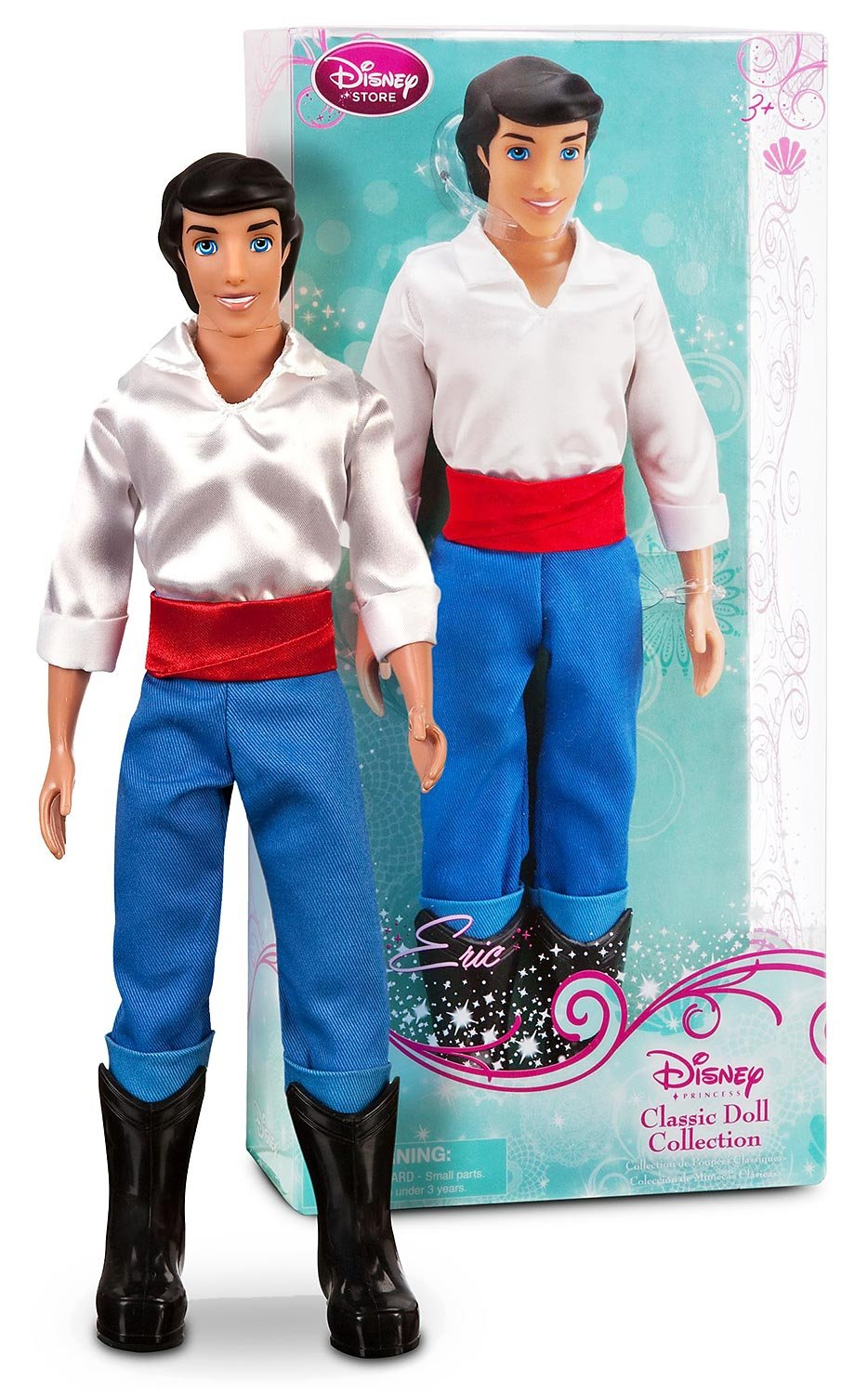 Uncategorized Prince Eric amazon com prince eric from the little mermaid 12 doll disney princess classic collection toys games
