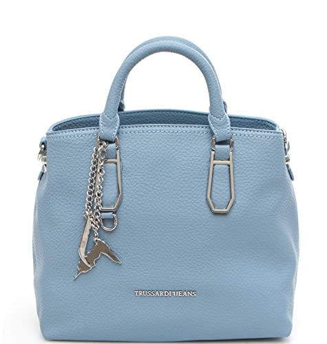 Smooth Bag Carrie Ecoleather Shopping Borsa Jeans Trussardi Donna qMpSLUzVG