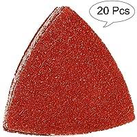 KingBra - Almohadillas de lija multiherramienta oscilante triangular