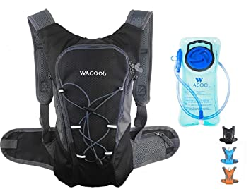 Amazon.com : WACOOL 2L Waterproof Hydration Bladder Pack, Cycling ...