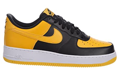 huge selection of 03ac9 4be38 Image Unavailable. Image not available for. Color  Nike Men s Air Force 1  Low Black University ...