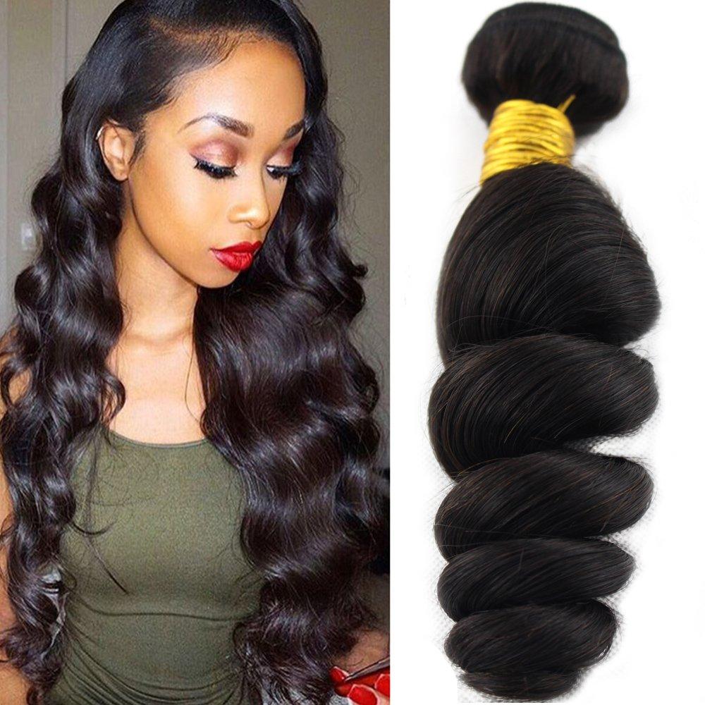 Amazon Baofu Hair Brazilian Loose Wave Extension 100 Human