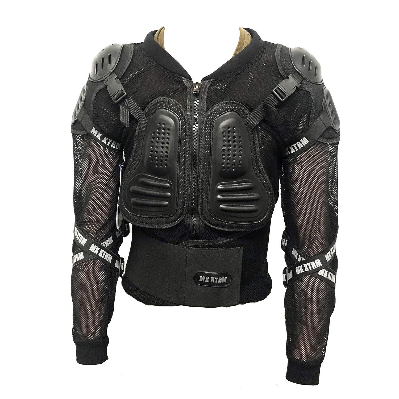 XTRM Edge Armatura Moto Bambini Protezione di Motocross Giacca off-Road Indumenti di Protezione Quad Pit Bike Sportivo Bambino Spina dorsali Protettori per Torace