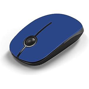 Jelly Comb Ratón Inalámbrico de 2,4 GHz con Receptor Nano para Ordenador Portátil/