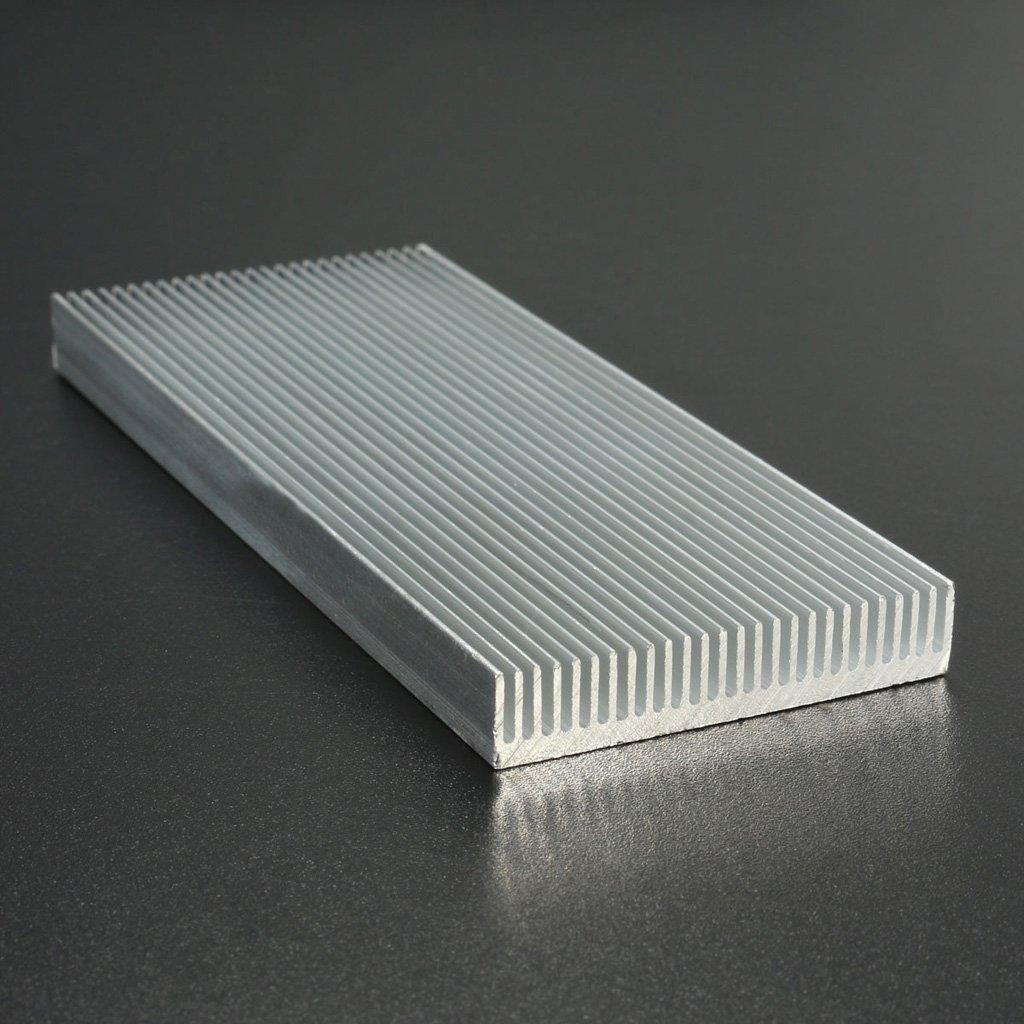 Aluminium Heatsink Sink Cooling Fin for Transistor 100x41x8mm