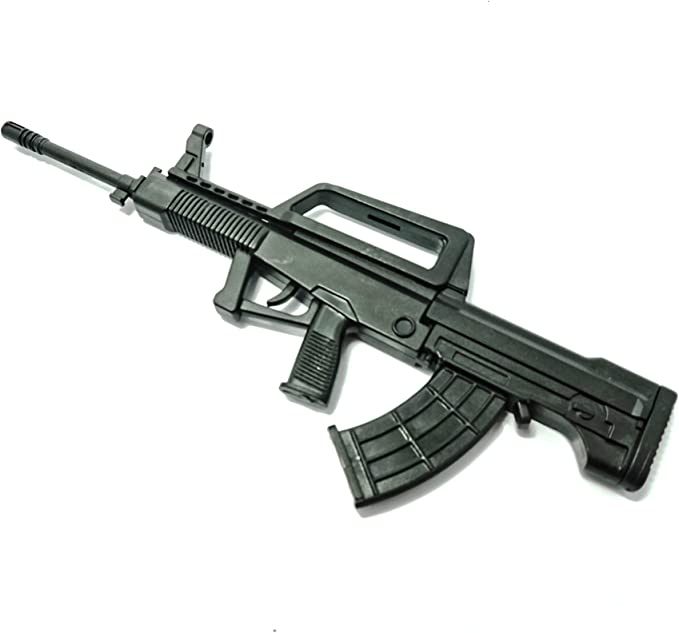 QBZ95 Rifle w//QLG91B Launcher 1//6 Scale Toy Chinese People/'s Armed Police