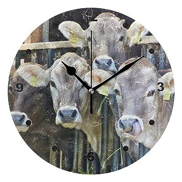 Amazon.de: SUNOP Uhr für Kinder, mit Öldruck, Bauernhoftierfutter ...