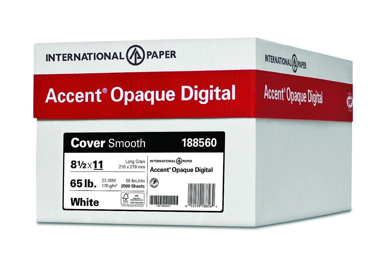 アクセント不透明、滑らかなカバーホワイト、65lb、97明るい、シート、Made in the USA 1,250 Sheets B06WVMM5C6 1,250 Sheets|18×12  1,250 Sheets