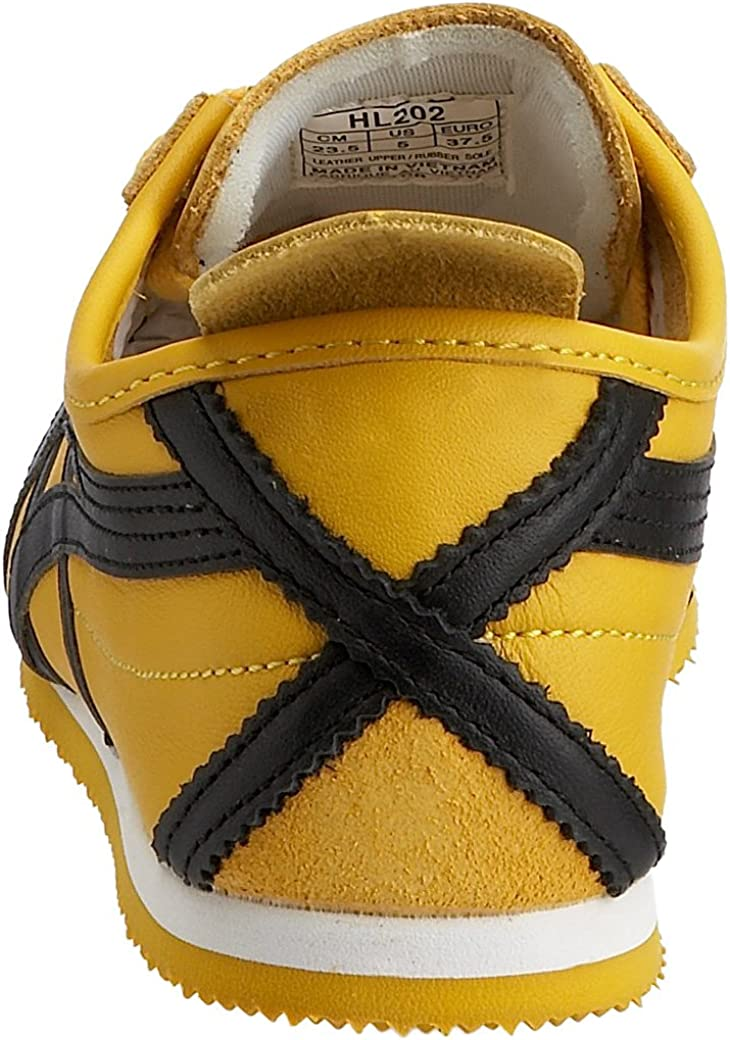 Onitsuka Tiger HL202 Mexico 66 Unisex Sneaker Yellow/Black