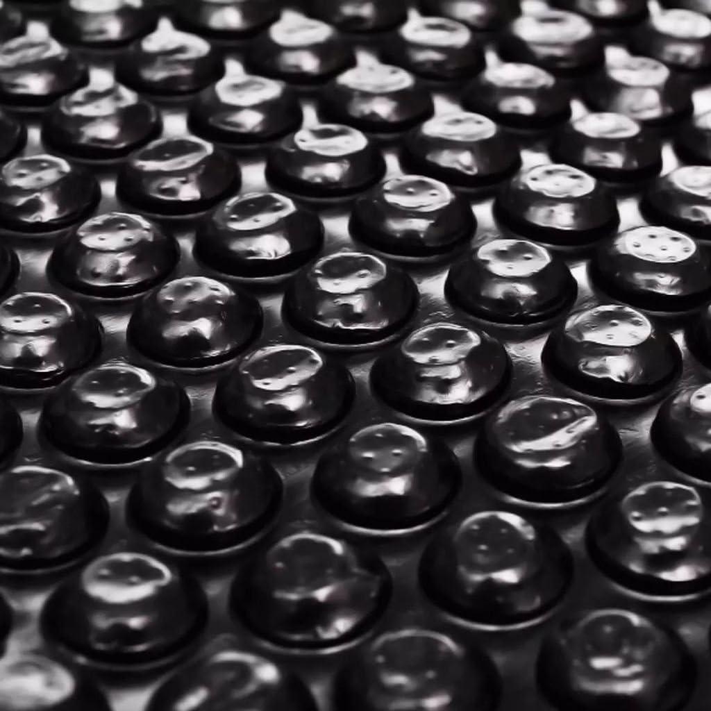 vidaXL Película Negra Rectangular de Polietileno Flotante de Piscina 8x5 m
