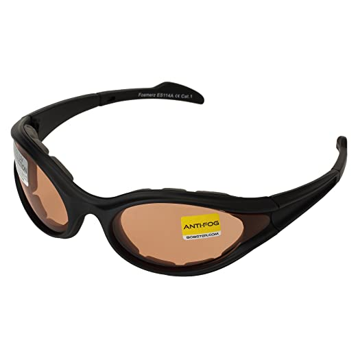 beefac8a6a7 Amazon.com  Bobster 1650 Foamerz Sport Sunglasses