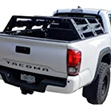 Hooke Road Tacoma Overland Bed Rack Truck Cargo Carrier Compatible with Toyota Tacoma 2005 - 2021 2nd 3rd Gen