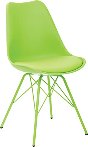 Ave Six Emerson Student Side Chair, Green