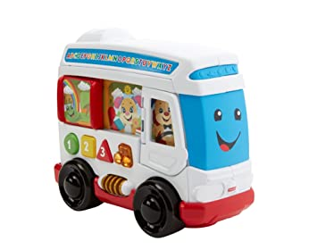 Fisher-Price fkf15 autobús de Perro: Amazon.es: Juguetes y juegos
