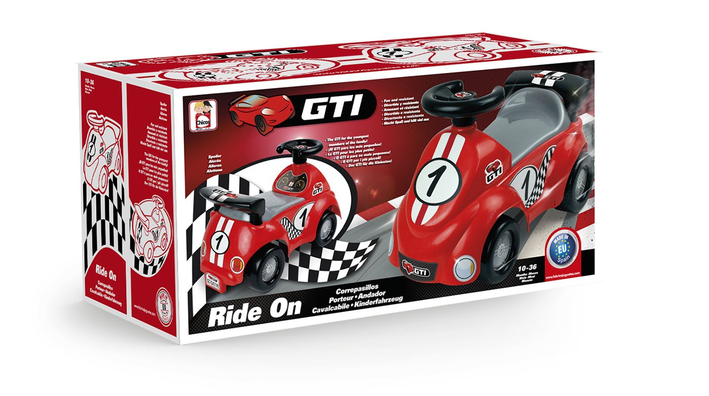 Amazon.com: Chicos Kids Ride On GTI (34776): Toys & Games