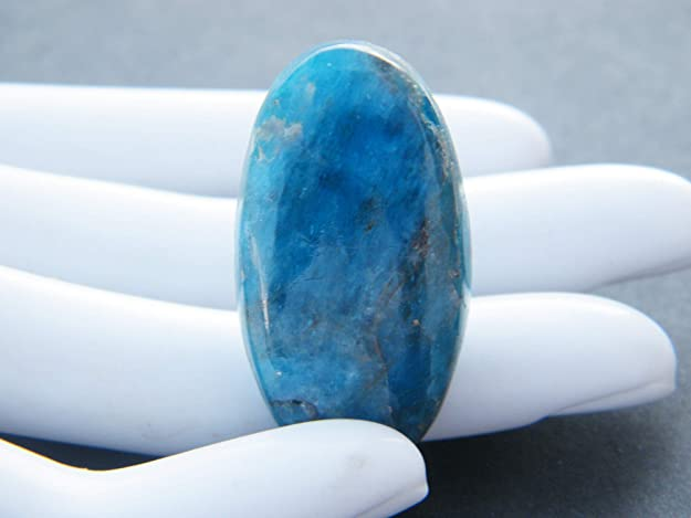 Natural Apatite oval shape  for jewelry cabochons stone loose gemstone top quality handmade gemstone jewelry 30x14x6m 26.cts