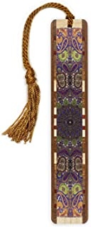 product image for Paisley Design - Handmade Wooden Bookmark on Maple Hardwood with Tassel - Search B0829G958H for Personalized Version