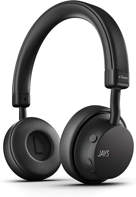 Jays Bluetooth Headphones Wireless A Seven Black Amazon Co Uk Electronics