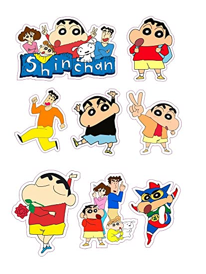 Buy Shinchan Sticker Online At Low Prices In India Amazon In