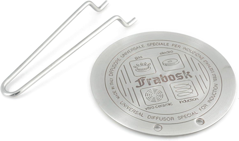 Diffusore Universale Frabosk Induzione con Pinza in Acciaio Inox Diamet
