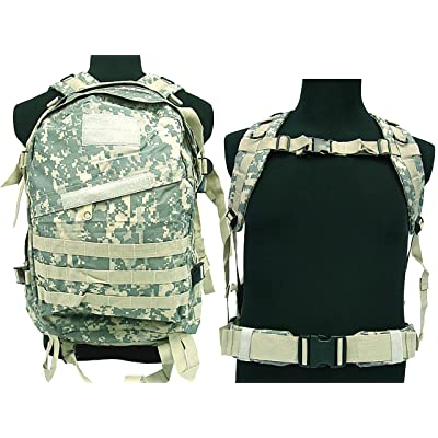 30%OFF Tactical 3D Camping Hiking Climbing Airsoft Military Molle Backpack ACU