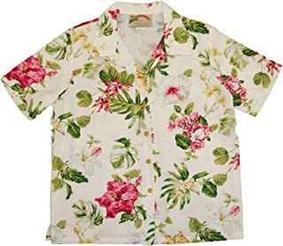 product image for Paradise Found Women's Hawaiian Bouquet Aloha Shirt