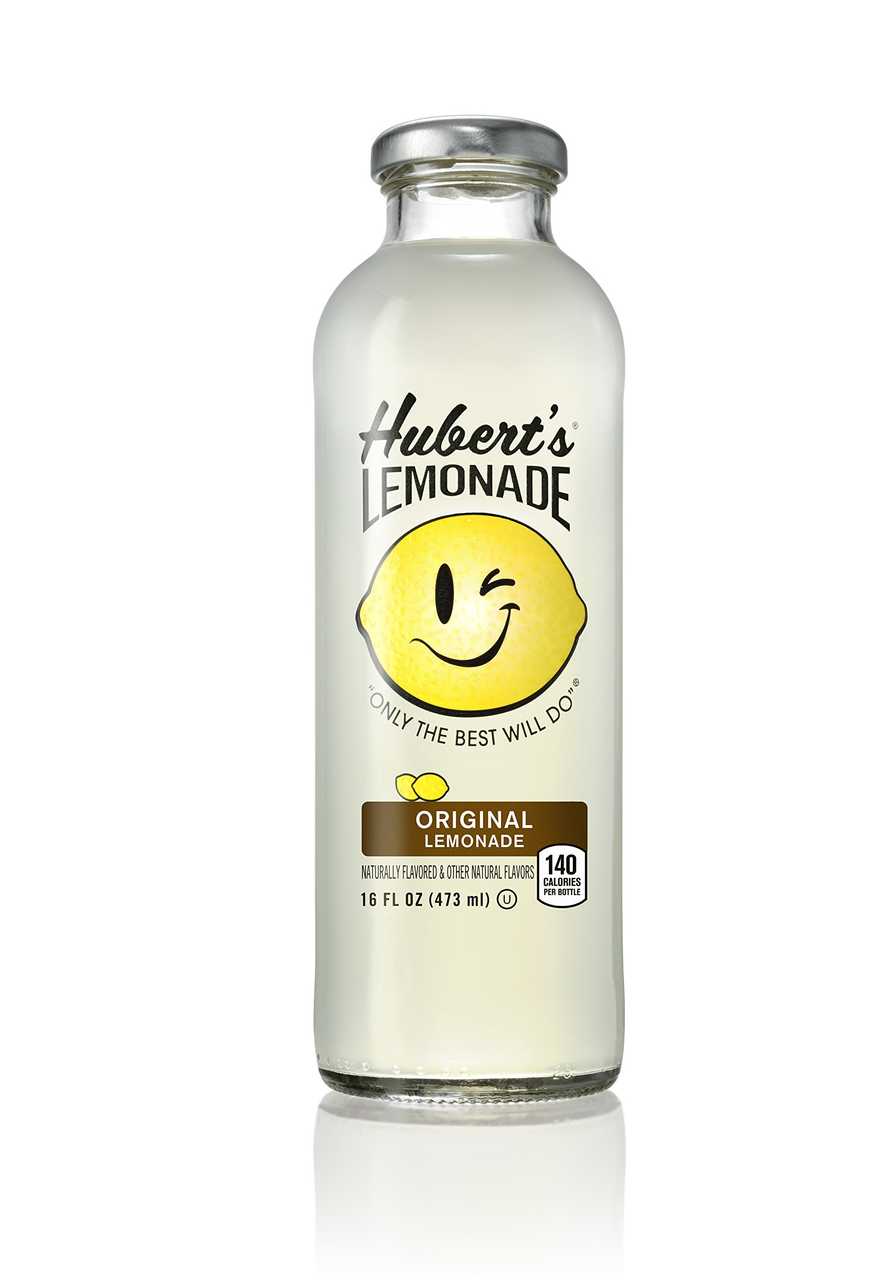 amazoncom huberts original lemonade 16 oz glass 12
