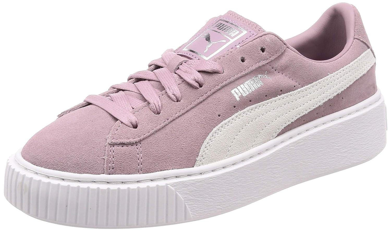 4940771153e Puma Women's Suede Platform Low-Top Sneakers