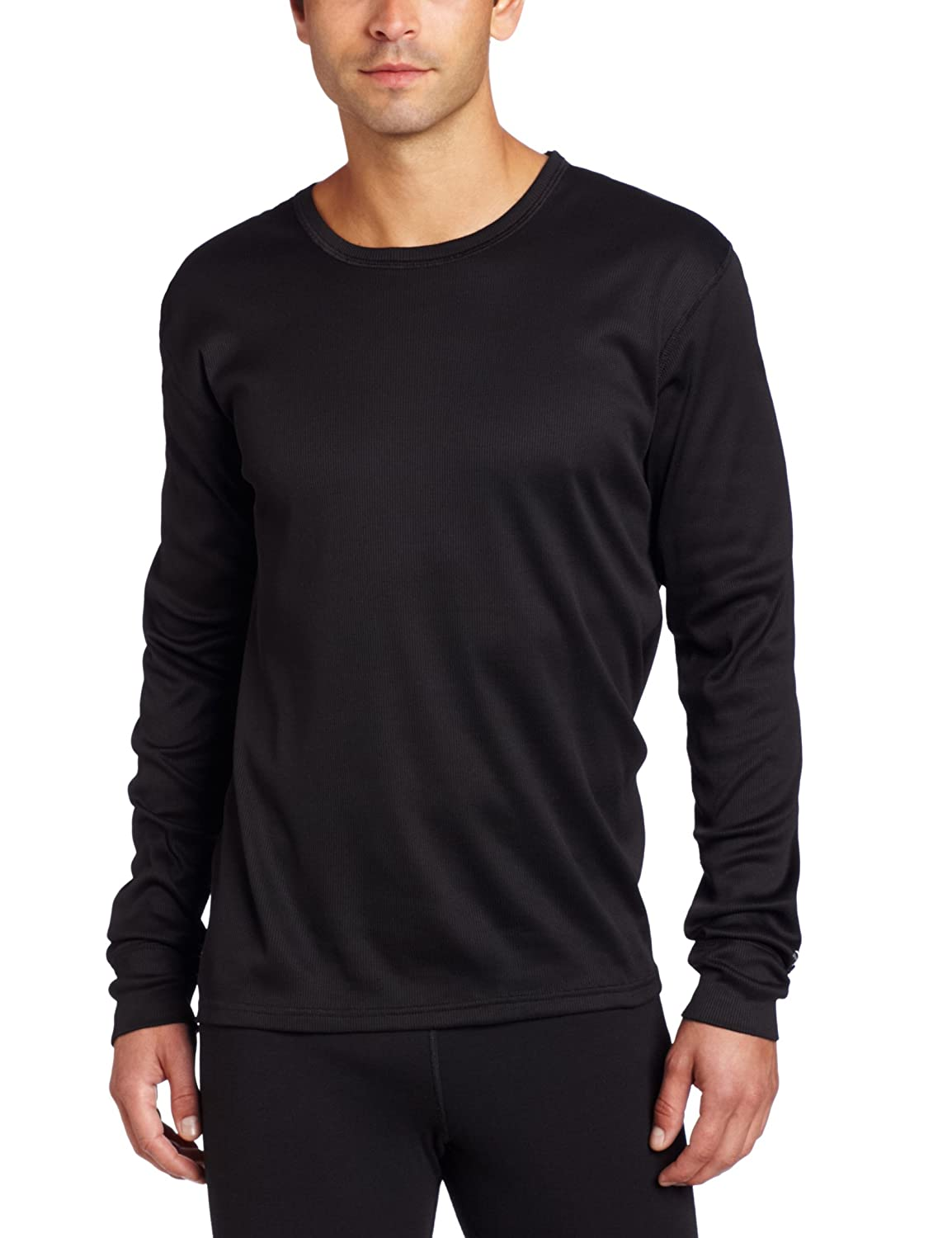 04e96df9091f Duofold Men s Brushed Back Crew Neck Thermal Top at Amazon Men s Clothing  store  Base Layer Tops