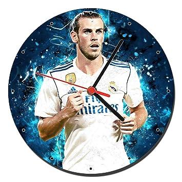 MasTazas Gareth Bale Real Madrid Reloj de Pared Wall Clock 20cm