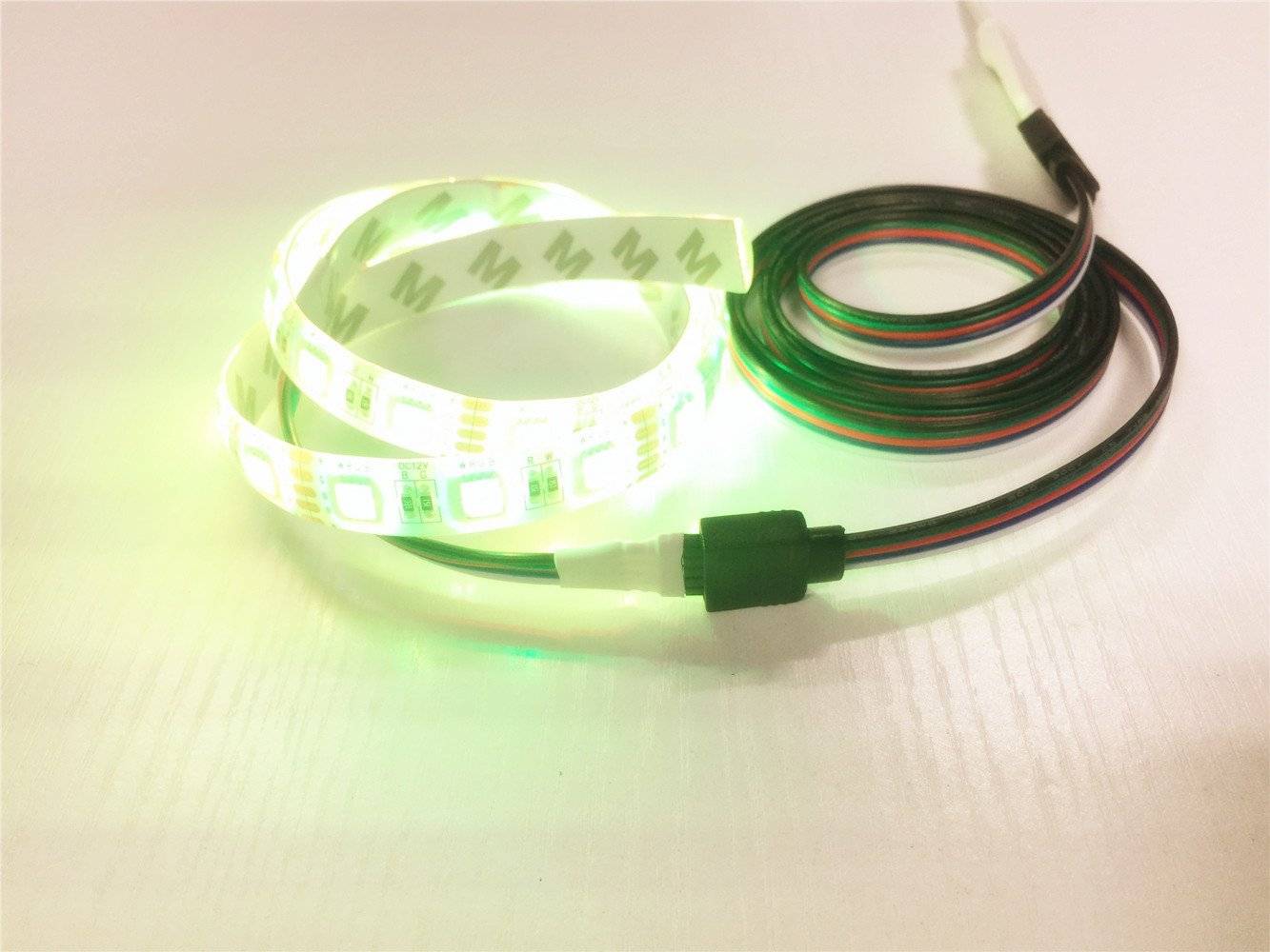 10m Cable Extensión Tira LED 5 pines Cable de Conexión Cinta de luz LED 5 Pin Línea Conector Banda LED Extension Cable Connector para SMD 5050 RGBW LED ...