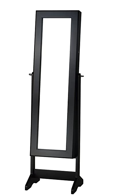 Amazoncom Cheval Free Standing Jewelry Armoire Black Kitchen