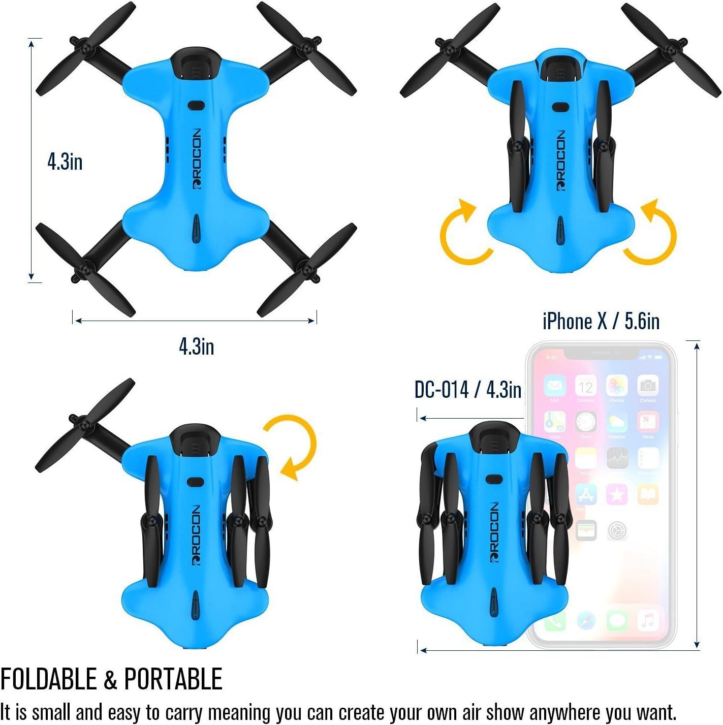 Amazon.com: Dron Ninja DROCON para niños y principiantes FPV ...