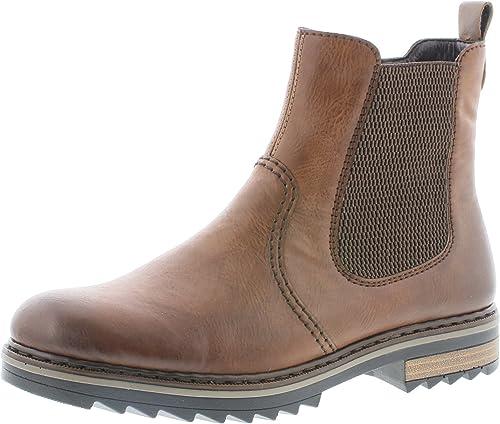 Rieker Damen Chelsea Boots X1473,Frauen Stiefel,Halbstiefel M7hys